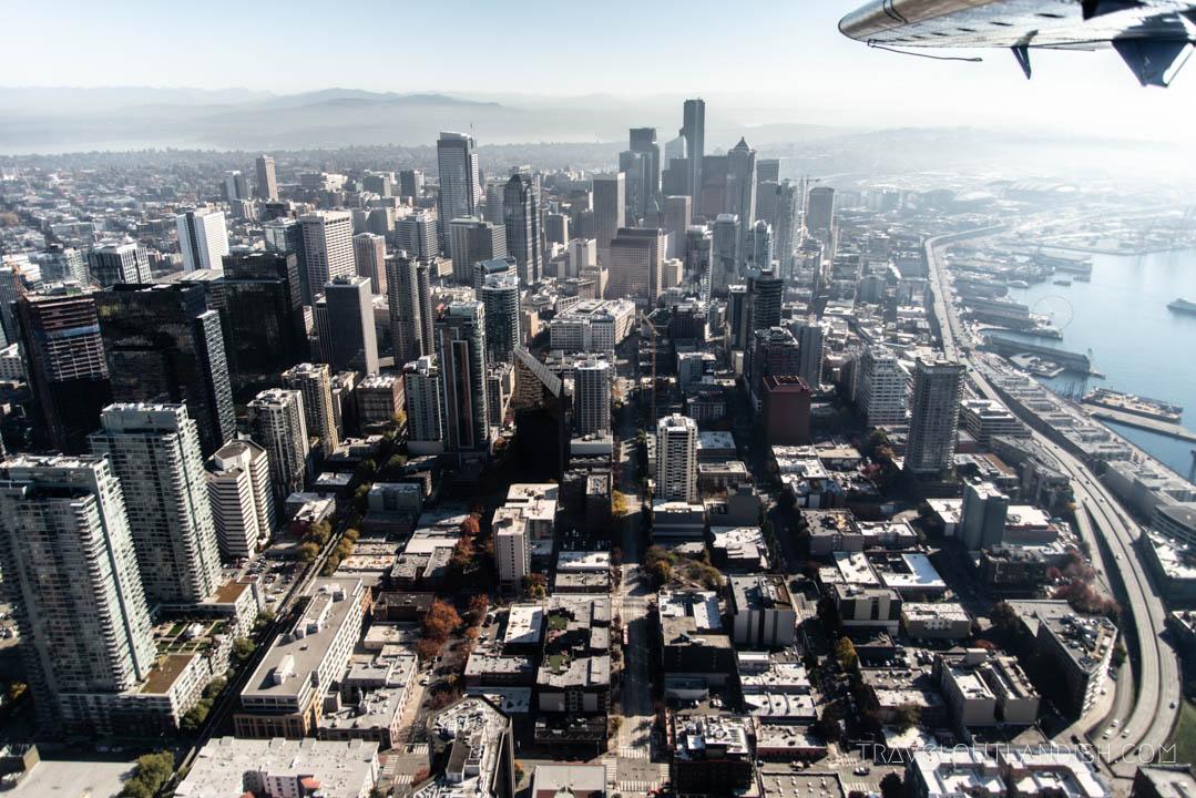 Seaplane Seattle - View of Seattle