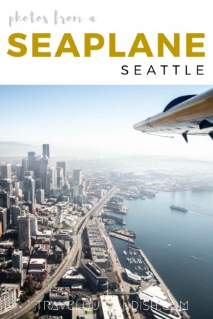 Wanna see Seattle from a new perspective? Check out photos of what it's like to take a seaplane over Seattle with Kenmore Air! #Sponsored