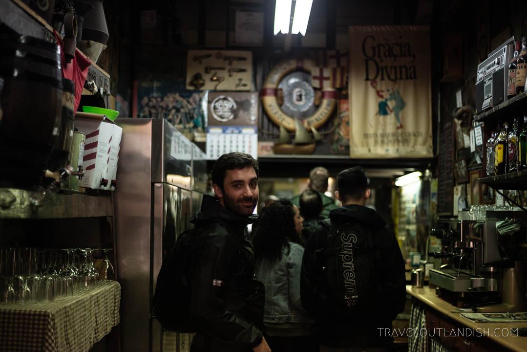 Street Food Barcelona - Bodega Ca'l Pep