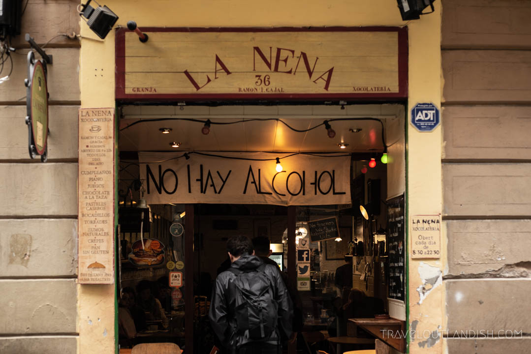 Street Food Barcelona - La Nena Chocolateria