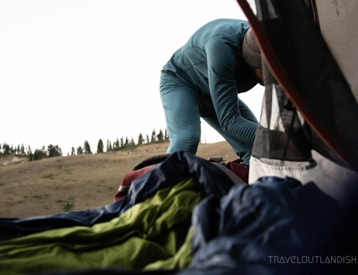 Best Sleeping Bags for Travel - Camping at Olympic National Park