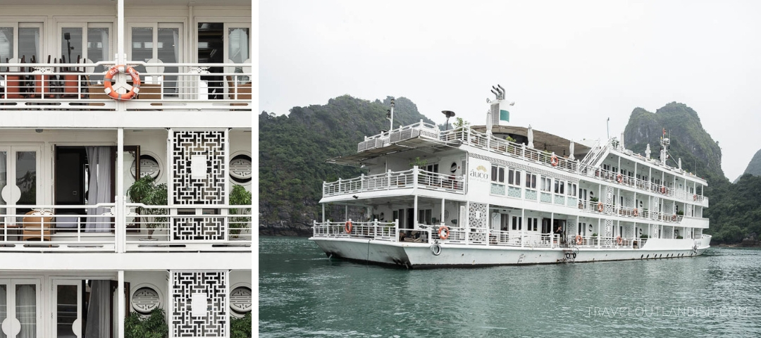 Luxury Cruise Halong Bay - The Au Co Cruise