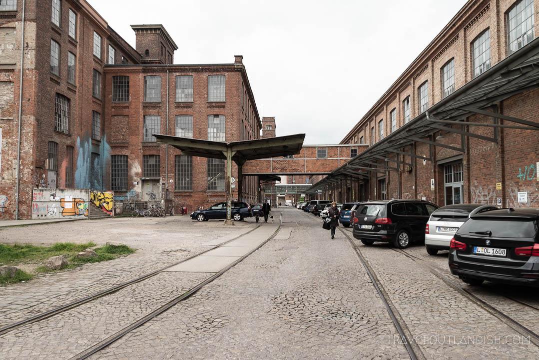 The Spinnerei in Leipzig