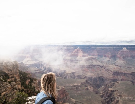 Avoid the Crowds at the Grand Canyon - Looking Out on the South Rim