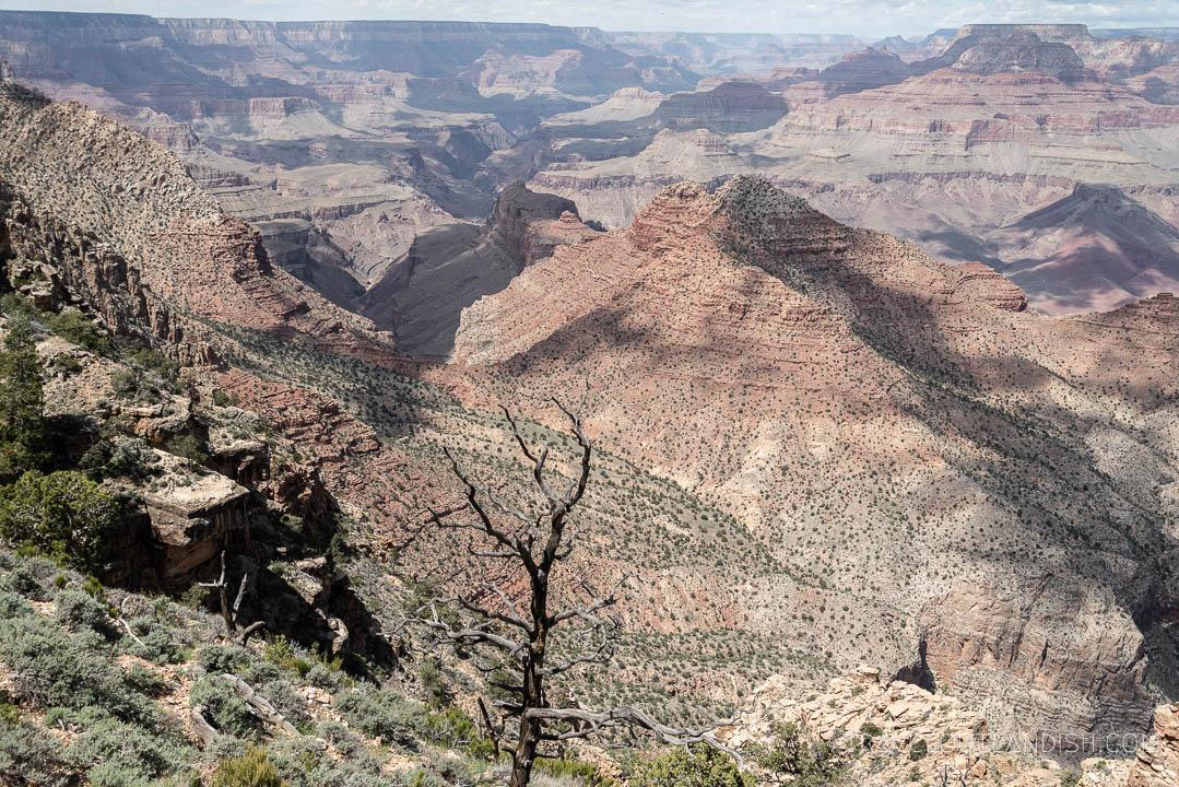 Horseshoe Mesa at the Grand Canyon