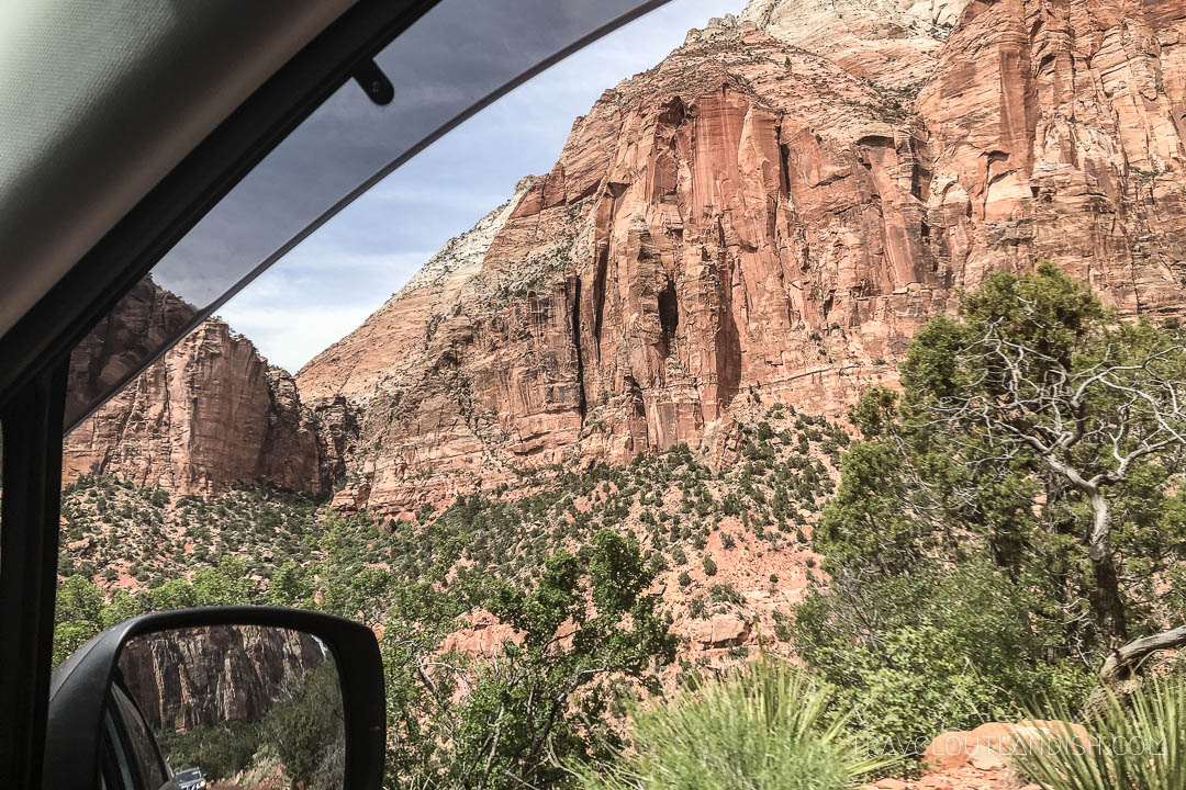 Utah National Parks Roadtrip - Rearview Mirror in Zion
