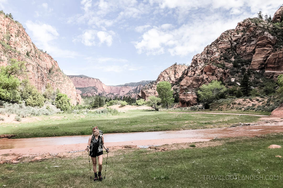 Day 2 of the Zion Traverse