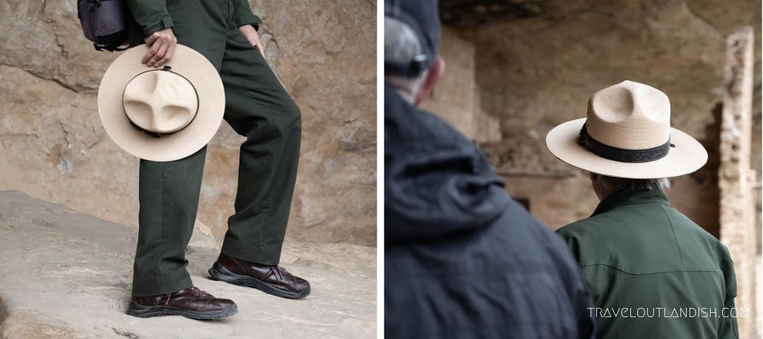 Ranger-led tour of the Balcony House at Mesa Verde National Park