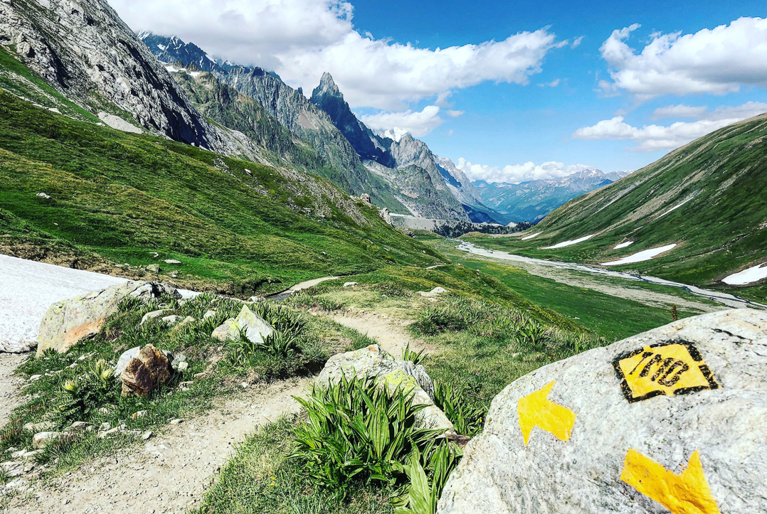 Tour du Mont Blanc in France is one of the most traveled treks in all of Europe