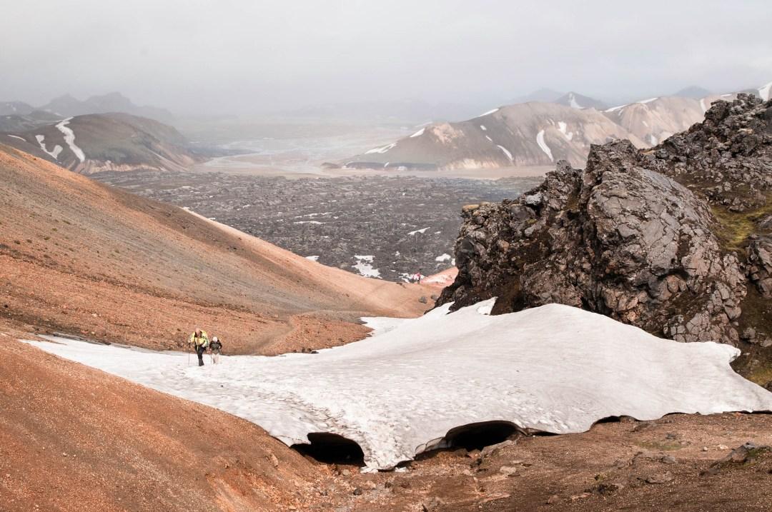 The Laugavegur Trek in Iceland