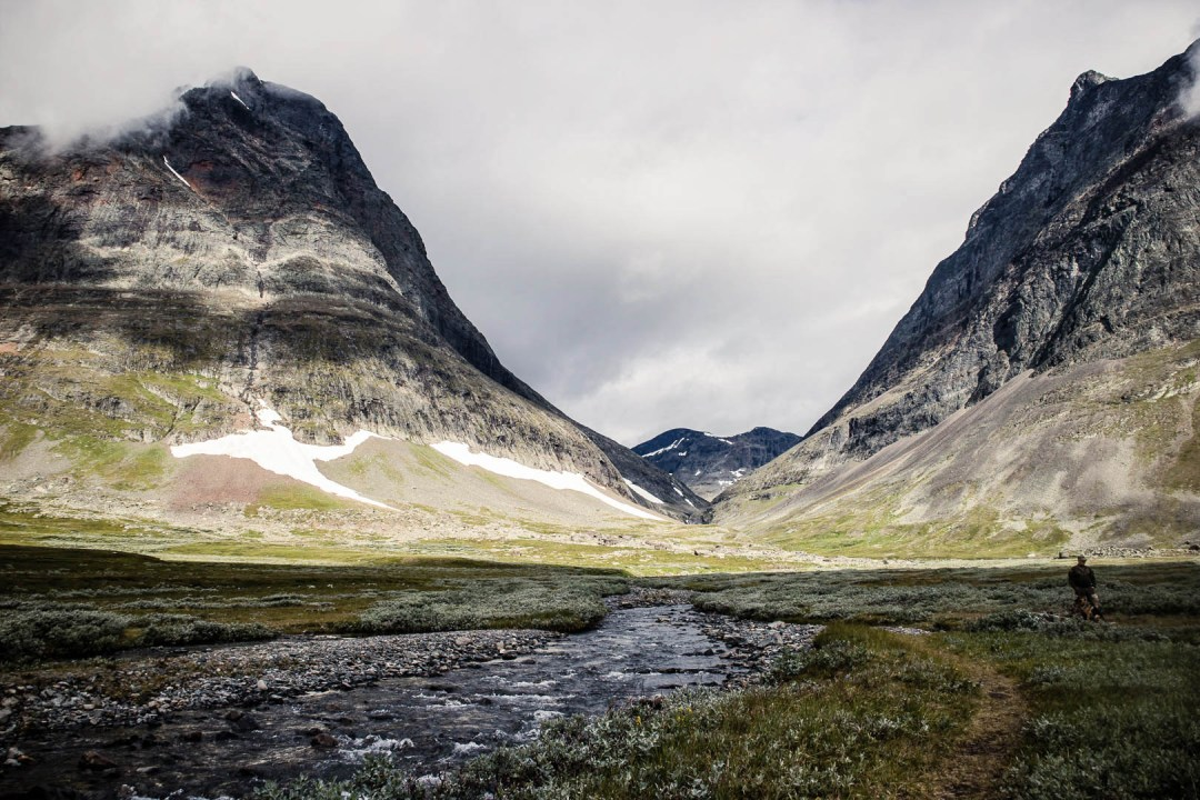 The Kungsleden in Sweden