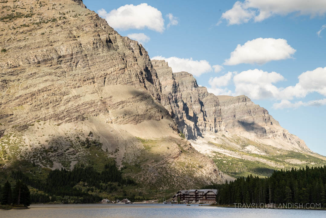 Many Glacier Hotel & other historic structures still exist in Glacier National Park