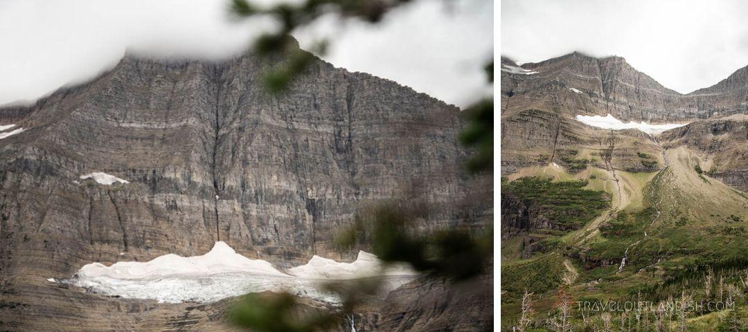 Views of Sexton Glacier