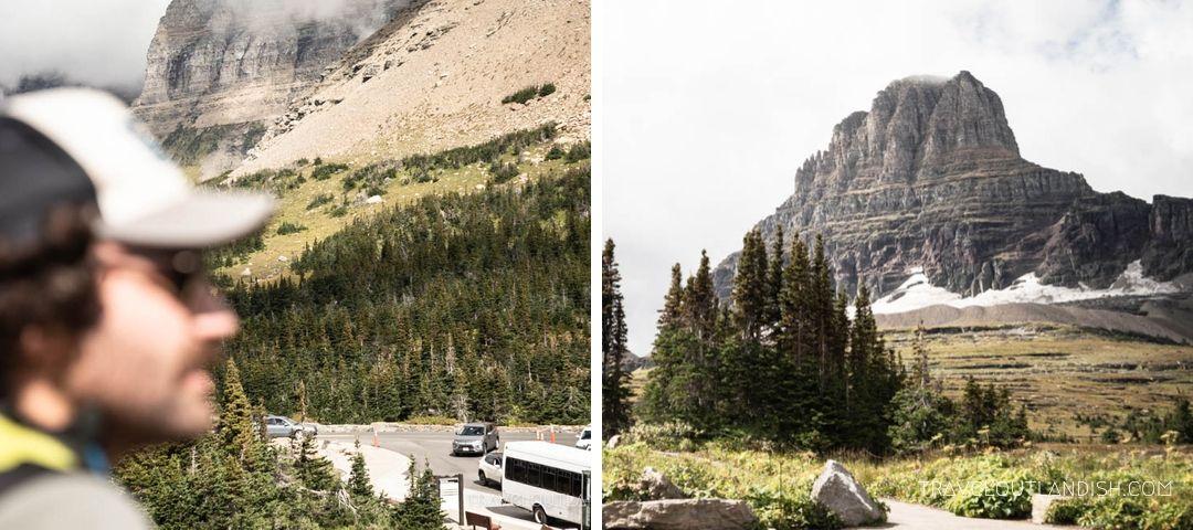 Views from Logan Pass
