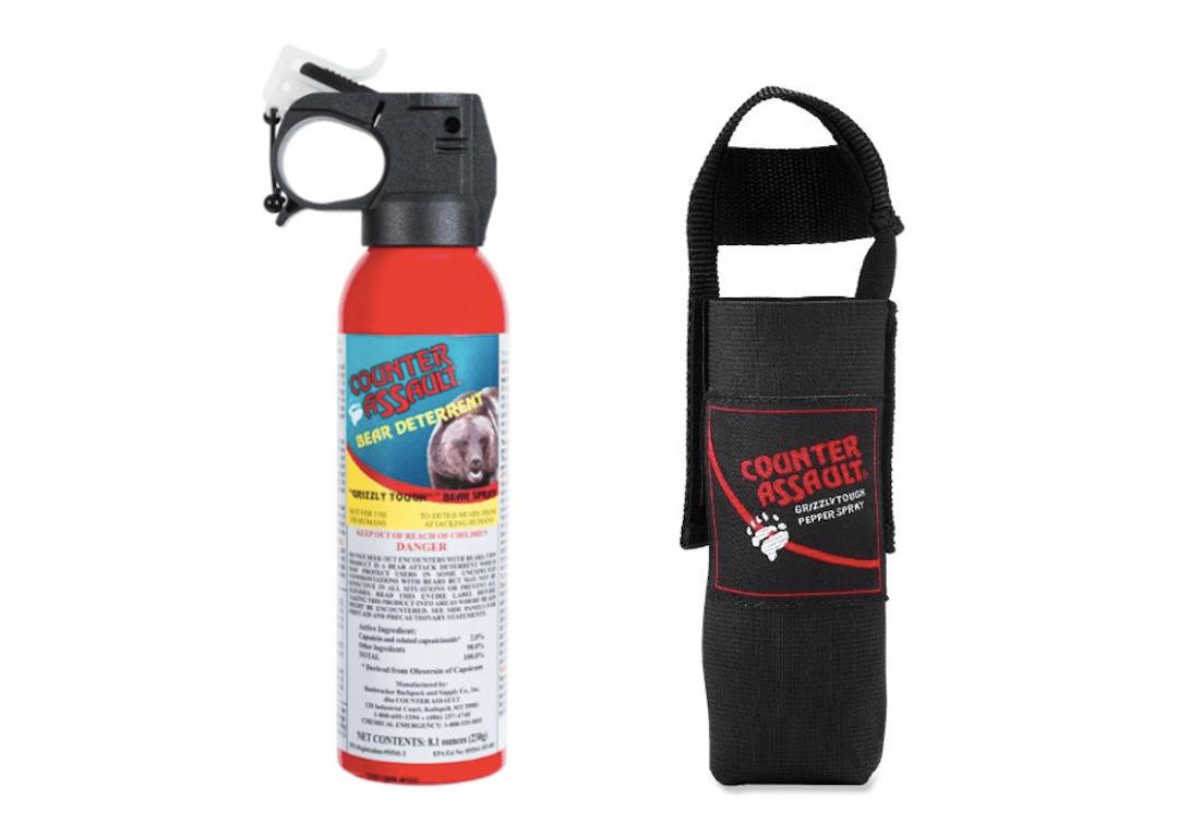 Bear Safety - Counter Assault Bear Spray & Holster