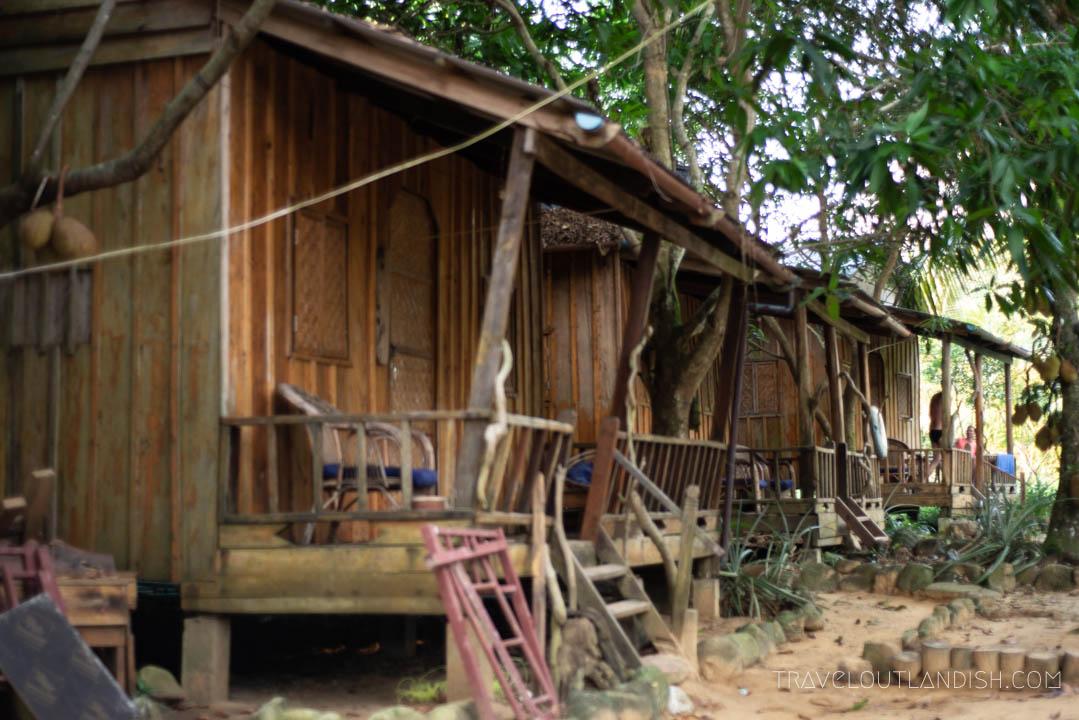 Easy Tiger Bungalows on Koh Rong Samloem