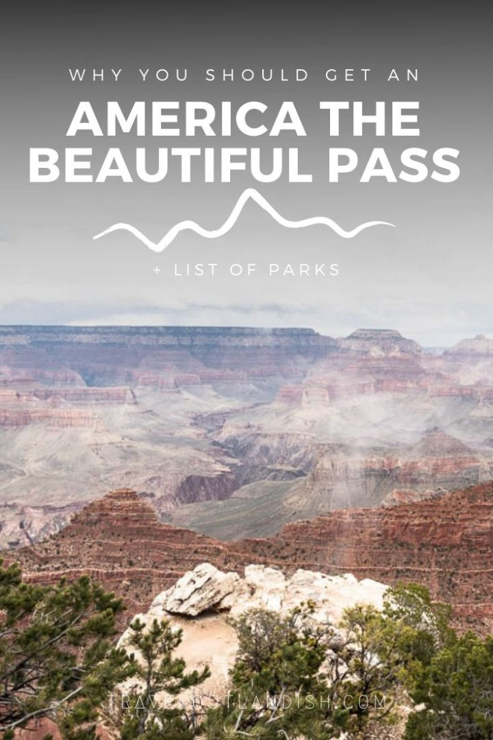 Hell yeah, it's almost summer again! Are you planning aroad trip through the US National Parks? If you've got more than 3 National Parks on your radar, the America the Beautiful Pass is a totally worth it. Here's everything you should know about the US National Park pass including how much it costs, where to buy it, and a list of parks included.