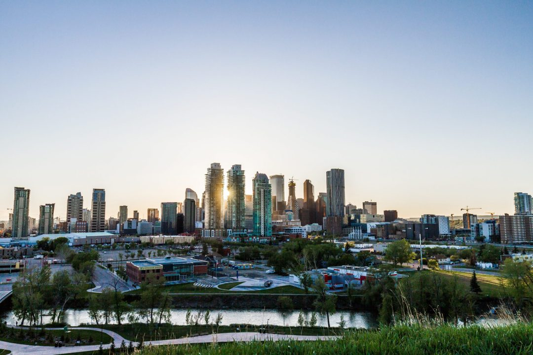 Photo of Calgary Skyline // Photo by Kyler Nixon on Unsplash