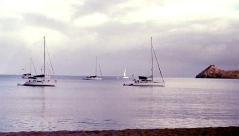 Rodney Bay, St. Lucia sunrise