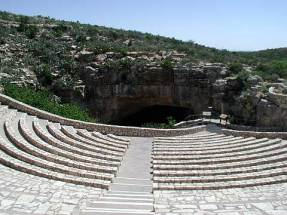 Ampitheater looking into the caverns