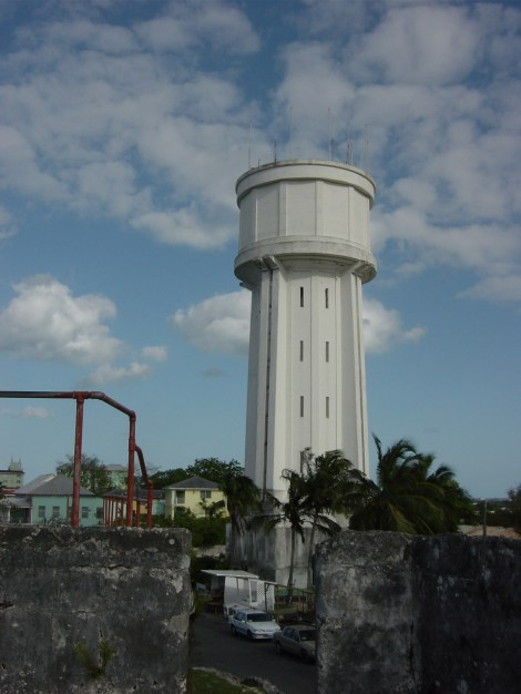 Water Tower Downtown Nassau