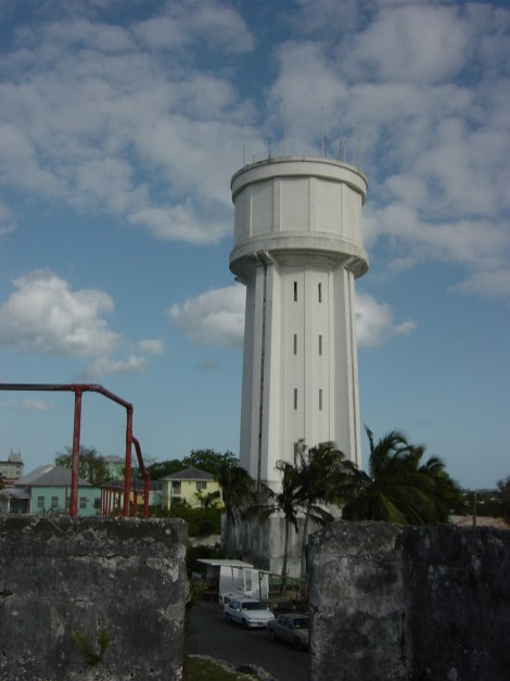Water Tower Downtown Nassau
