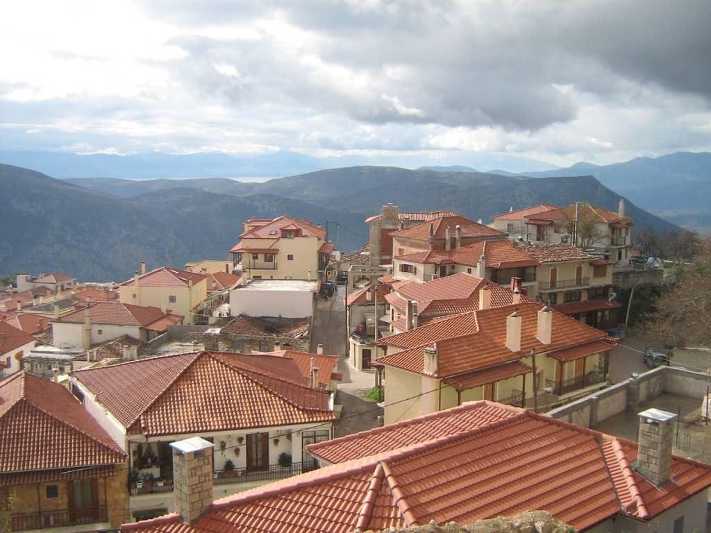 Arachova village