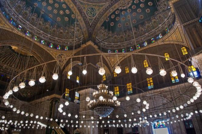 Chandelier Ali Mosque Cairo