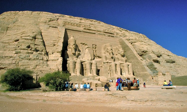 Abu Simbel: Temples of Ramesses II ©Len Rapoport