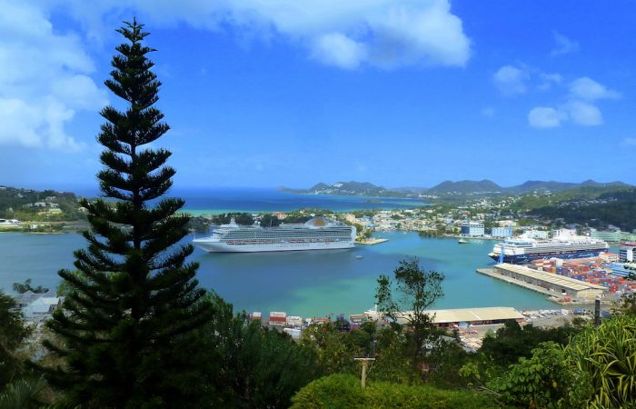 St. Lucia, Port of Castries