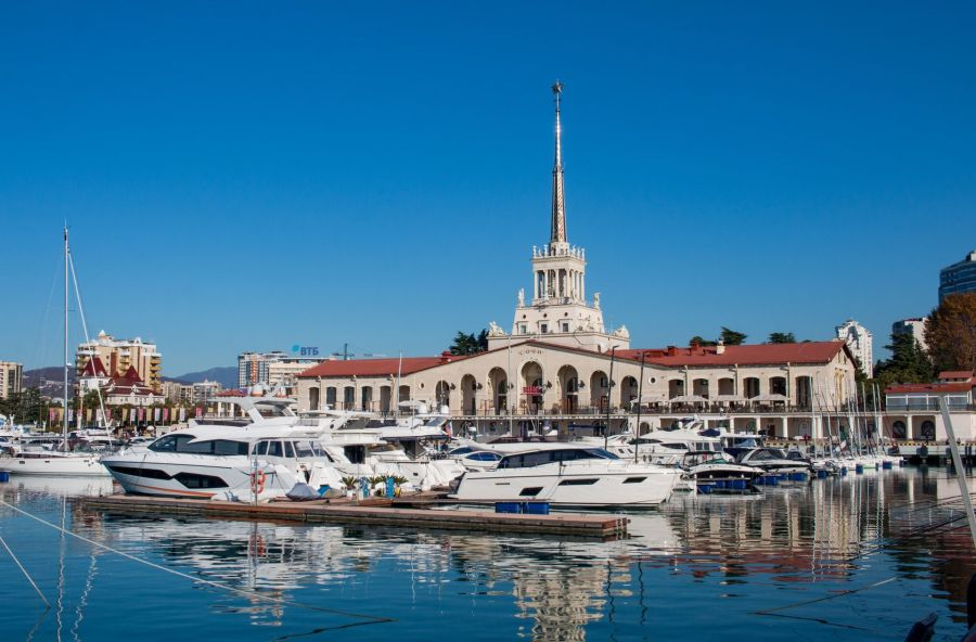 Places to visit in Russia Number 7 - Sochi