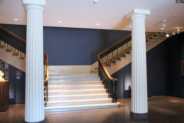 Entrance Hall Staircase Of Original Watkin Building At