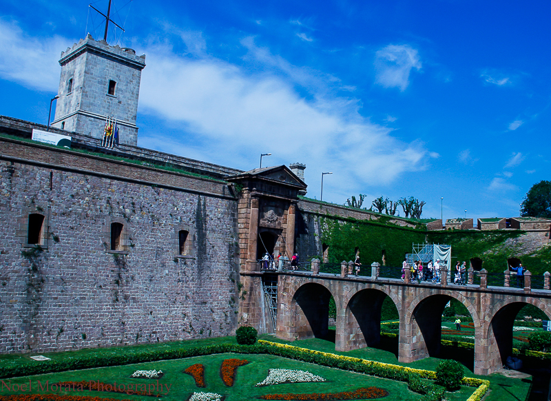 The Castle at Montjuic, Barcelona