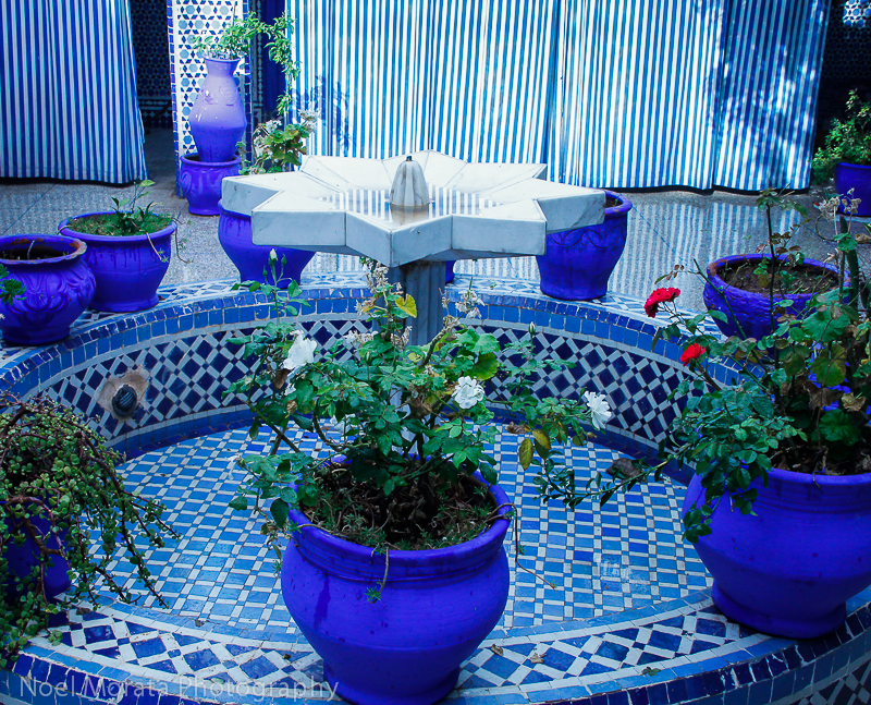 Jewish synagogue in Marrakesh