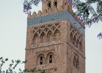 Koutoubia tower in Marrakesh