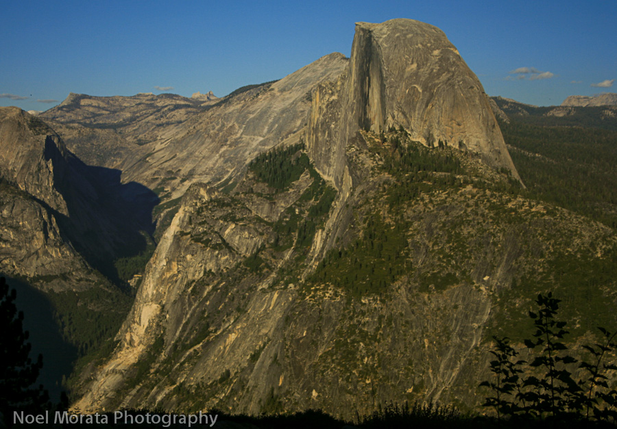 Scenic hike to Glacier Point