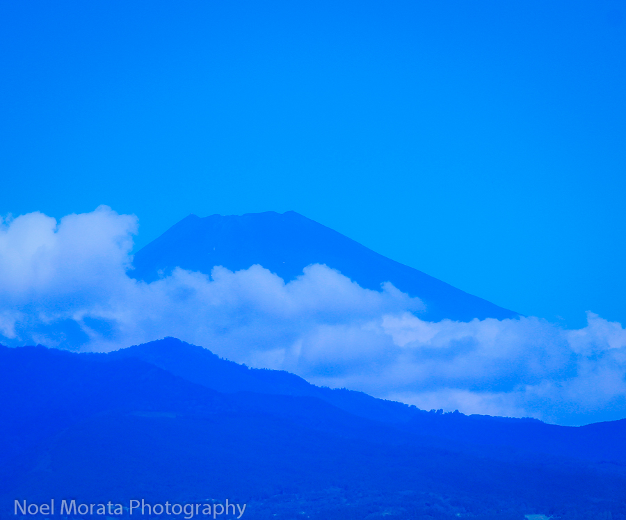 Mt. Fuji from a bullet train
