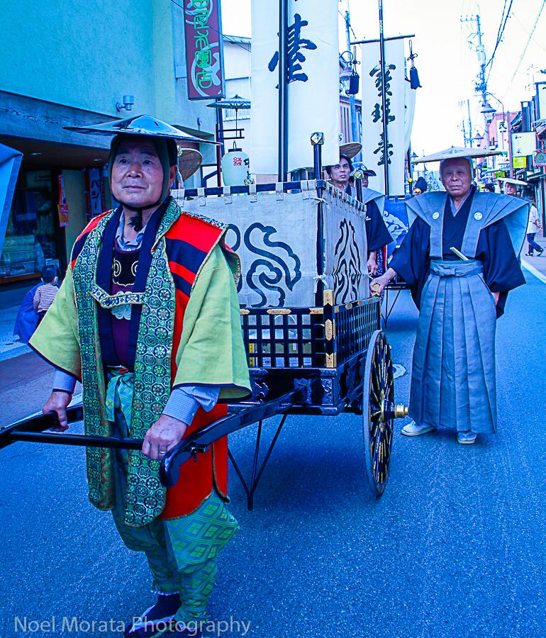 Fall harvest festival in Takayama