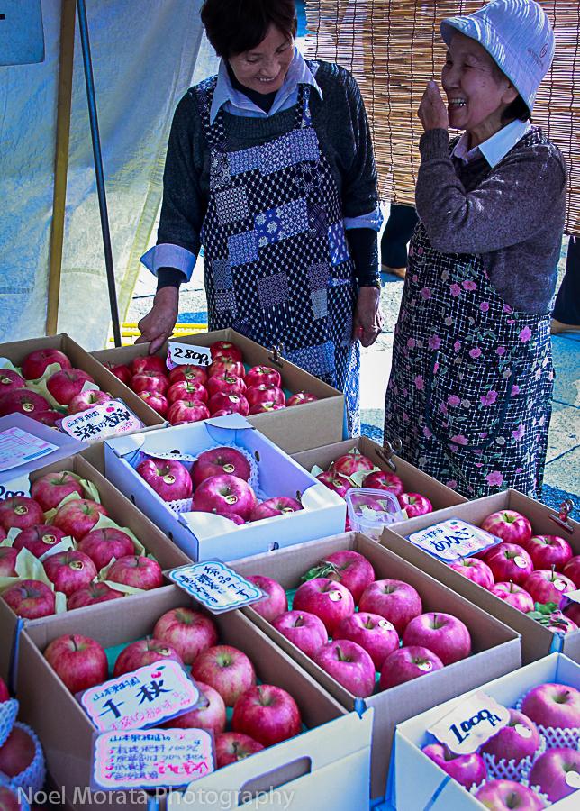 Japanese outdoor markets