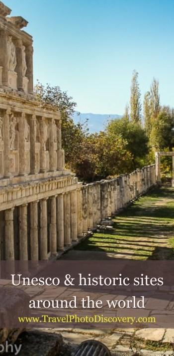 Unesco and historic sites around the world