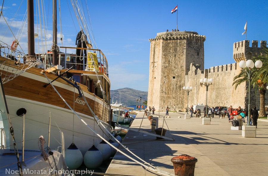 Fortress Kamerlengo and marina