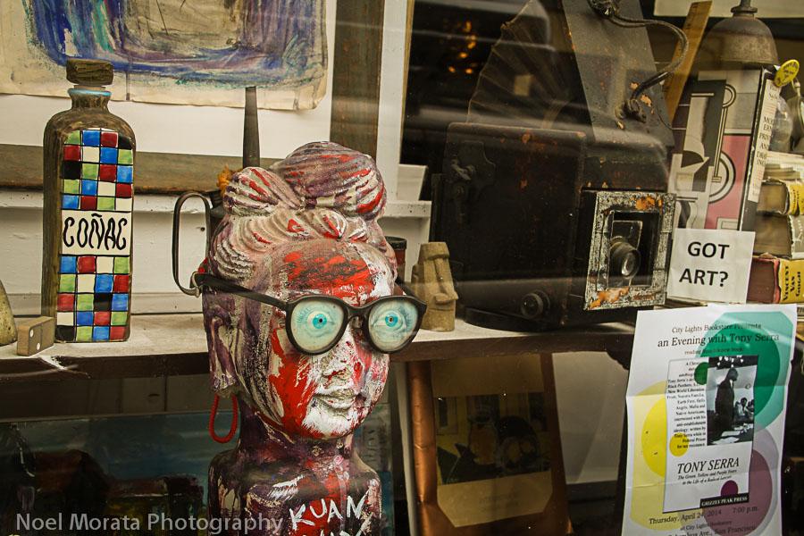 Art galleries in North Beach