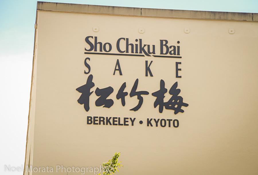 Sho Chiku Bai Sake factory on 4th Street