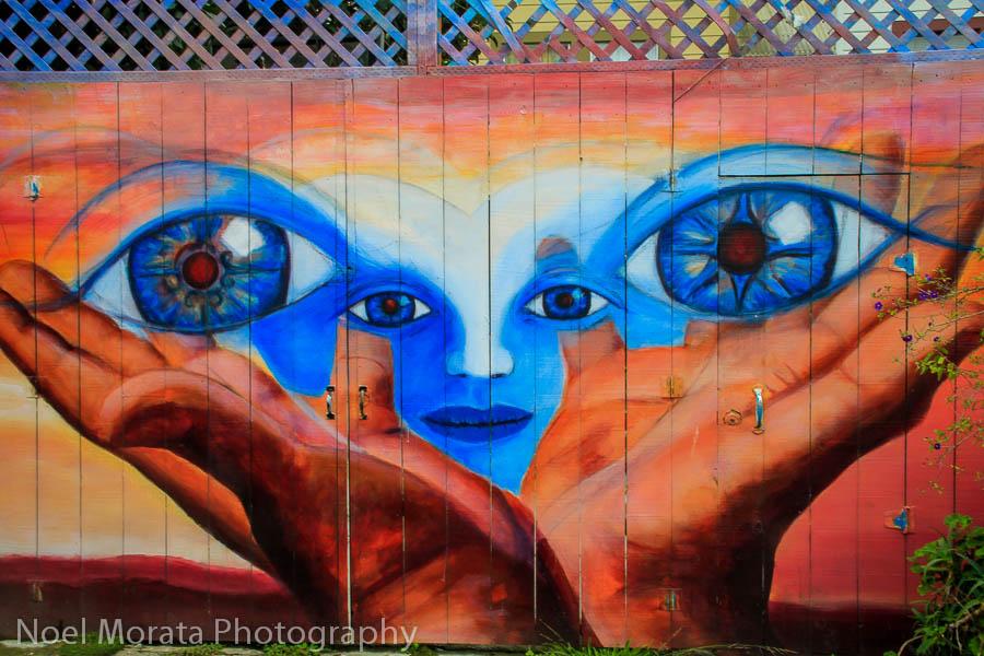 Mission street art - Travel Photo Mondays