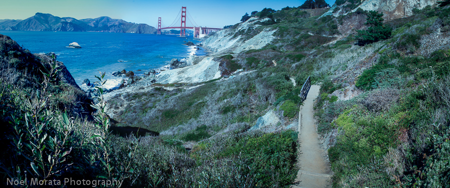 Cool places to visit in San Francisco including Marshall Beach in San Francisco
