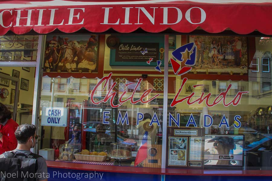 Chile Lindo in the Mission district of San Francisco