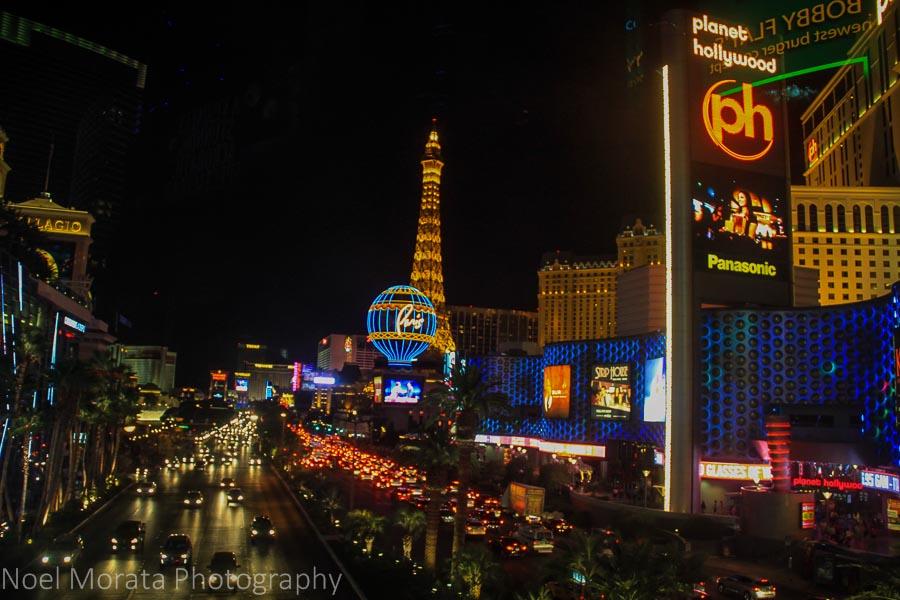 Vegas night scenes - Travel Photo Mondays