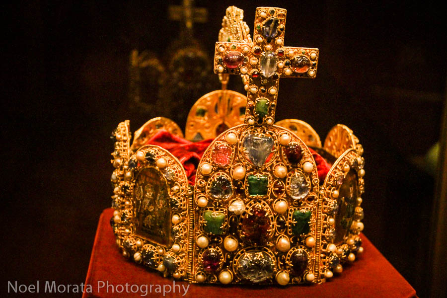 Royal Hapsburg jewels and crowns