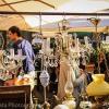 The antique market on British Square, Zagreb