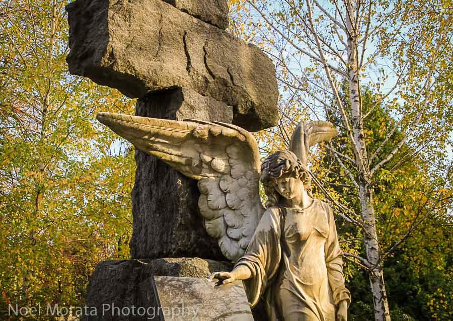 Stunning sculpture at Mirogij